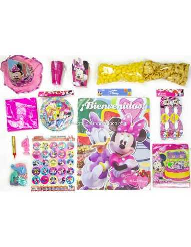 Combo Para Cumpleaños MINNIE MOUSE