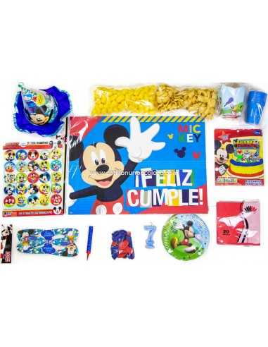Combo Para Cumpleaños MICKEY MOUSE