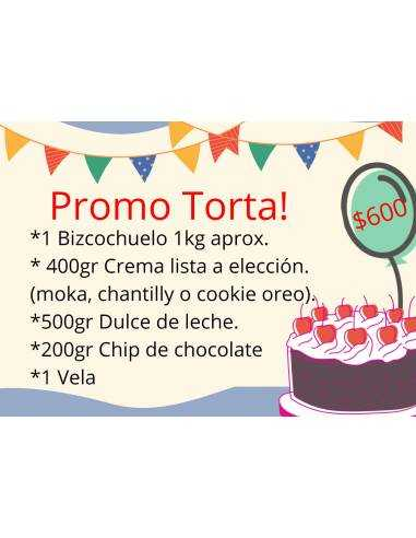 PROMO TORTA! LISTA PARA ARMAR