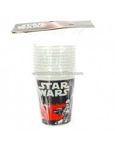 VASO PLASTICO STAR WARS x10