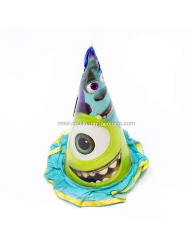 GORRO HOMENAJEADO MONSTER UNIVERSITY x1