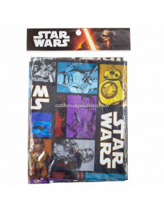 MANTEL PLASTICO STAR WARS x1