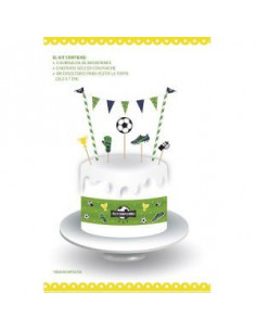 DECORACION TORTA FOOTBALL