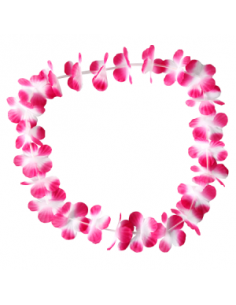 COLLAR HAWAII HULA FLORES ROSA