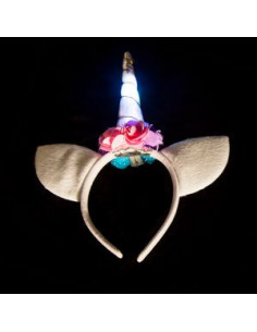 LED VINCHA UNICORNIO LUMINOSO
