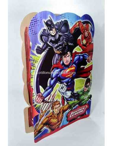 PIÑATA CARTON JUSTICE LEAGUE x1