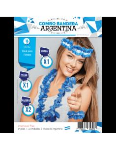 COMBO BANDERA ARGENTINA...
