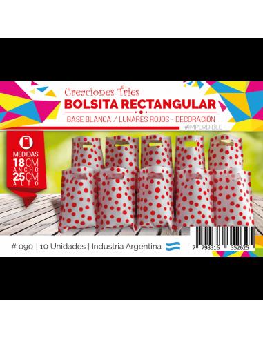 BOLSITA CUMPLE FANTASIA x10 COLOR...