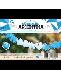 GUIRNALDA ARGENTINA 3 m  x 1