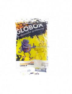 "GLOBO  9"" PERLADO AMARILLO x25"