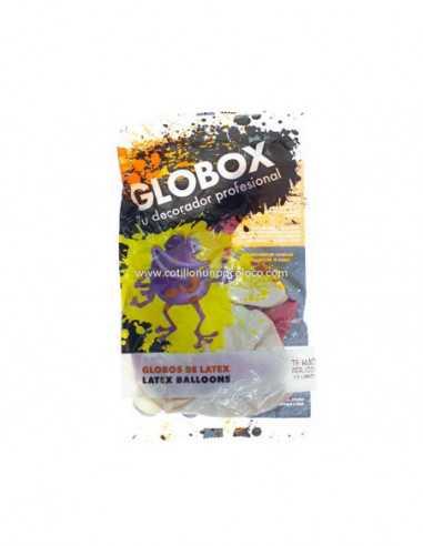 """GLOBO 12"""" PERLADO IMP.2C TE AMO x12"""