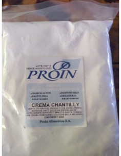 CREMA CHANTILLY PROIN x 1 kg