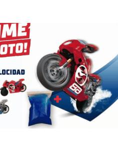 MOTO HOT WHEELS + SLIME...