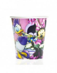 VASO POLIPAPEL x40 MINNIE...