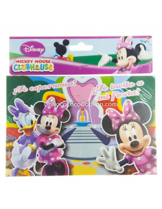 INVITACION MINNIE x10