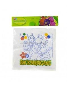 SERVILLETAS BACKYARDIGANS X12
