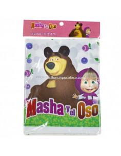 MANTEL PLASTICO MASHA Y EL...