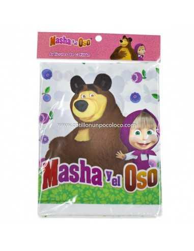 MANTEL PLASTICO MASHA Y EL OSO x1