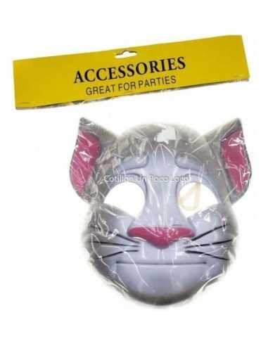 Mascara Gato Con Botas Plastico X 10u.