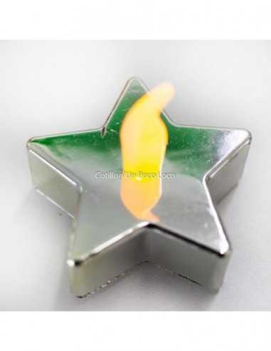 Velas Led Forma Estrella.color:...