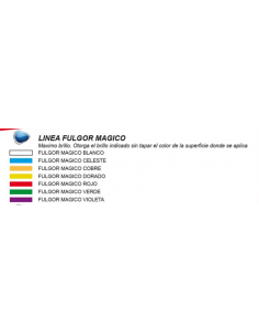 FULGOR MAGICO BLANCO x2gs