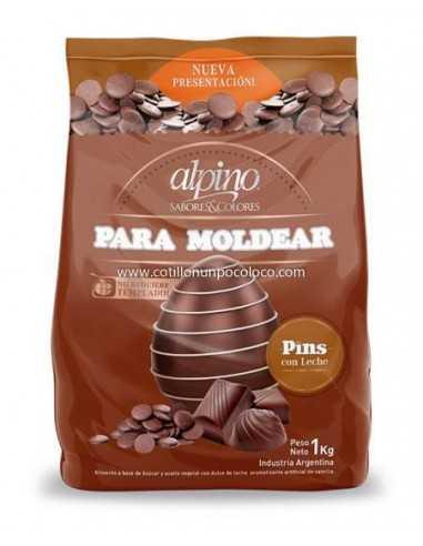 CHOCOLATE PIN CON LECHE X1kg ALPINO