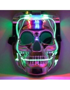 LED MASCARA - CALAVERA...