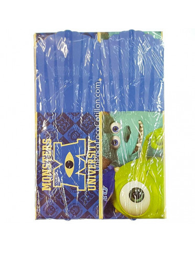 CAJA CARAMELO MONSTER UNIVERSITY x8